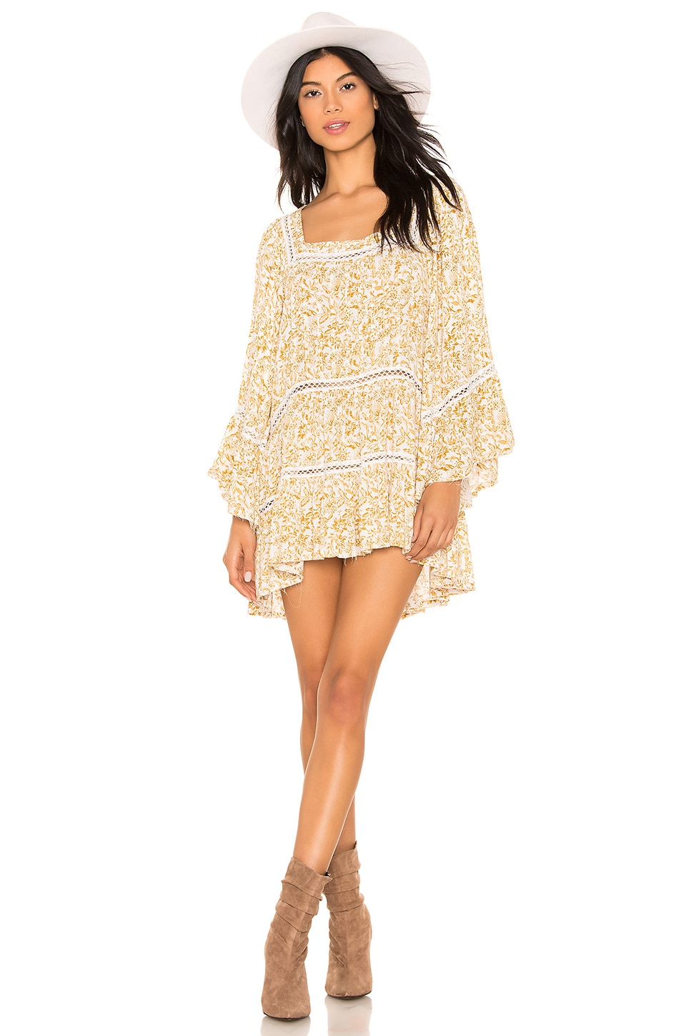 Free People Talk About It Tunic in Ivory