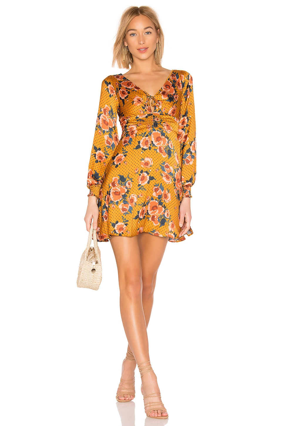 Free People VESTIDO MORNING LIGHT