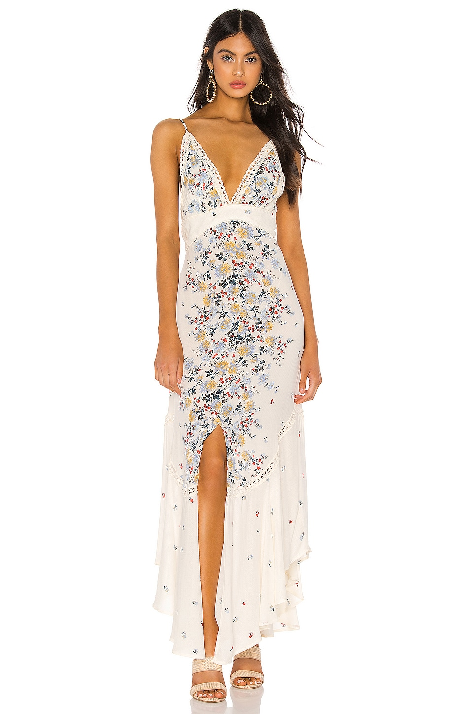Free People Dresses Paradise Printed Maxi Dress