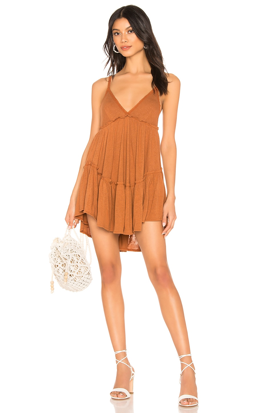 Free People Bella Donna Tunic in Copper