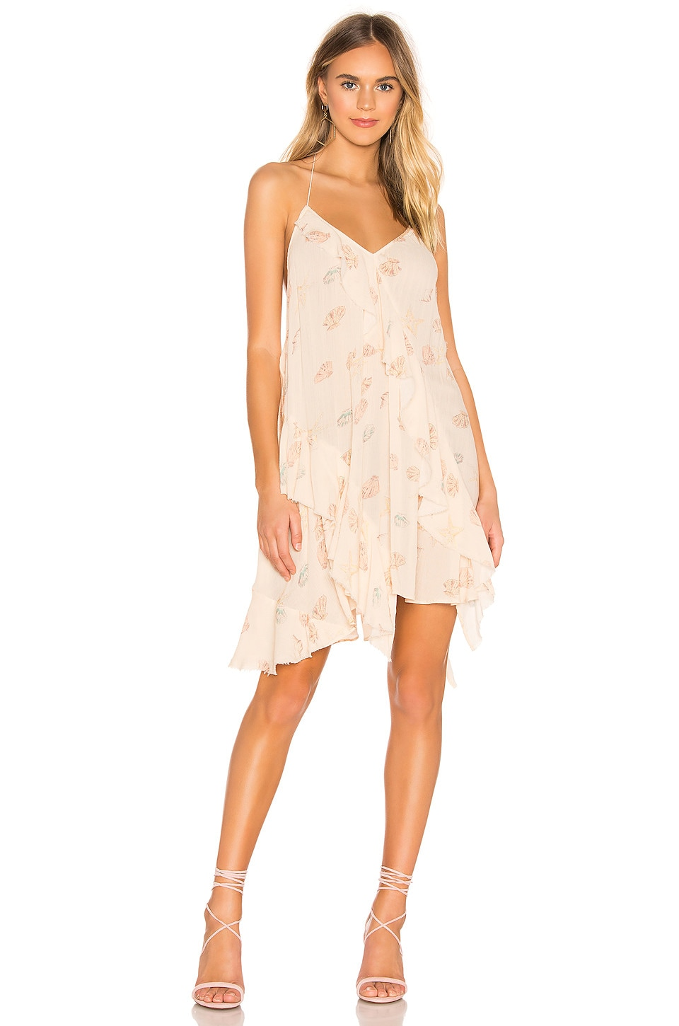 Free People Dresses FREE PEOPLE SUNLIT MINI DRESS IN PINK.