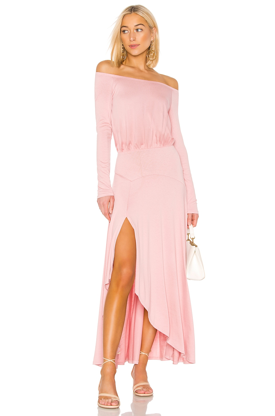 Free People Jupiter Maxi en Pink