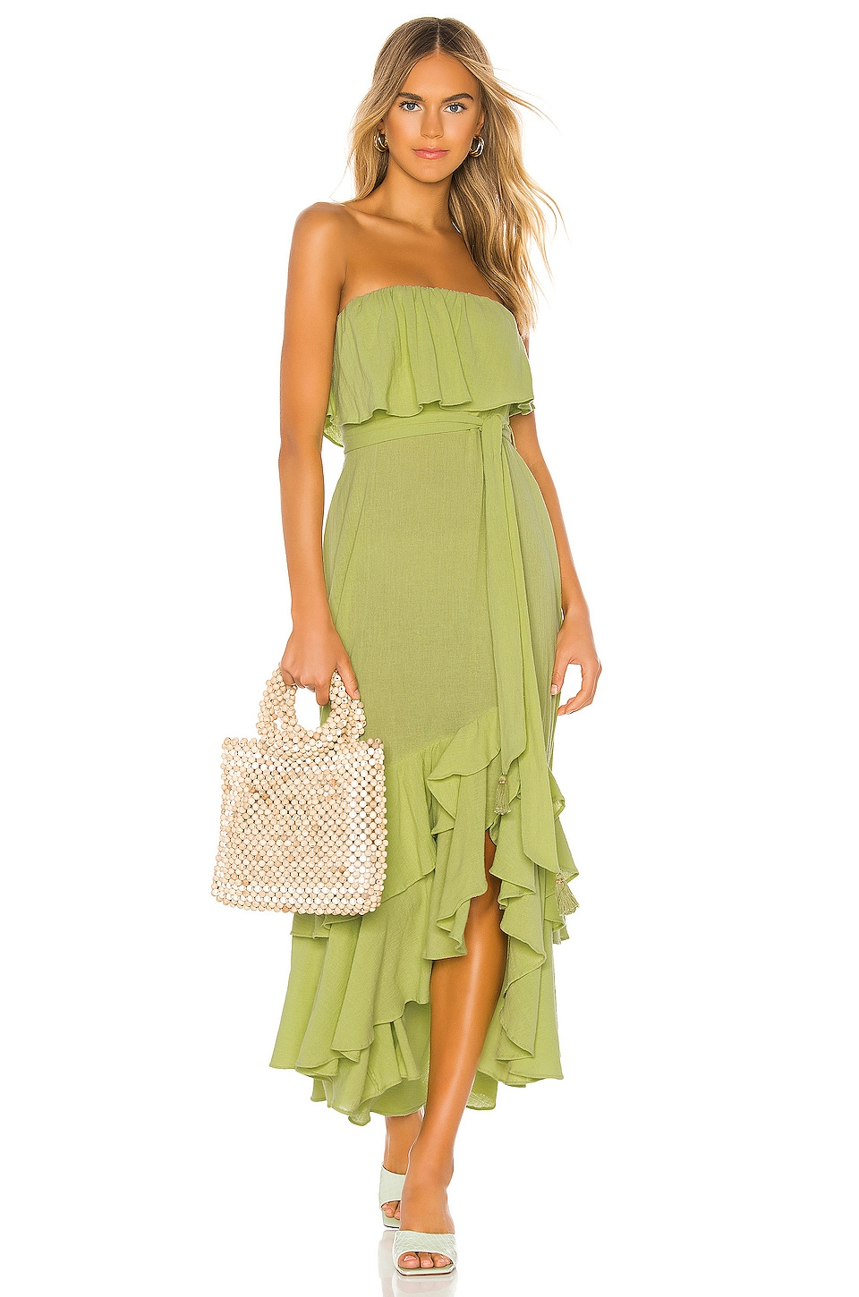 Free People Tavia Dress in Green