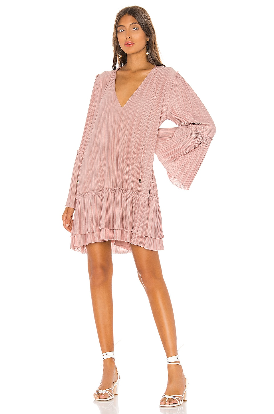 Free People Cant Help It Mini Dress in Pink