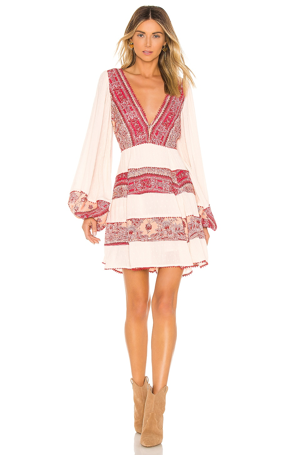 Free People MINIVESTIDO MY LOVE