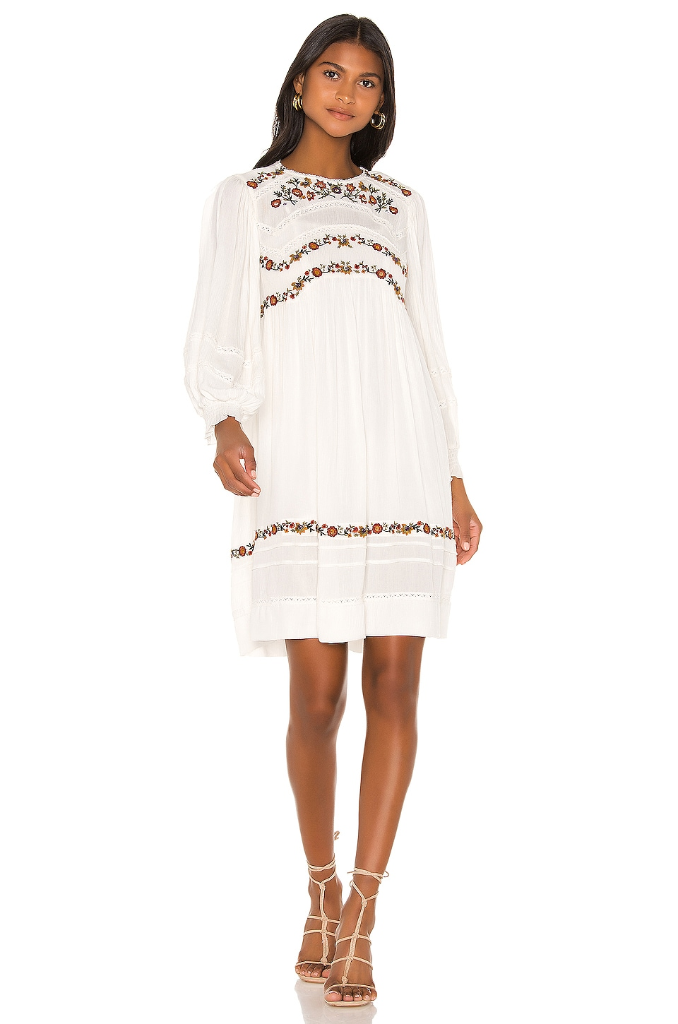 Free People Pasadena Dress in Ivory