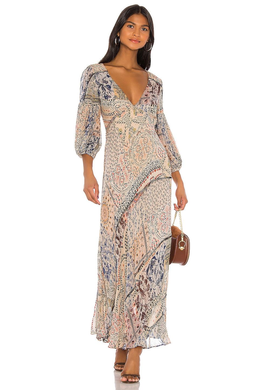 Free People Moroccan Dream Maxi Dress in Multi