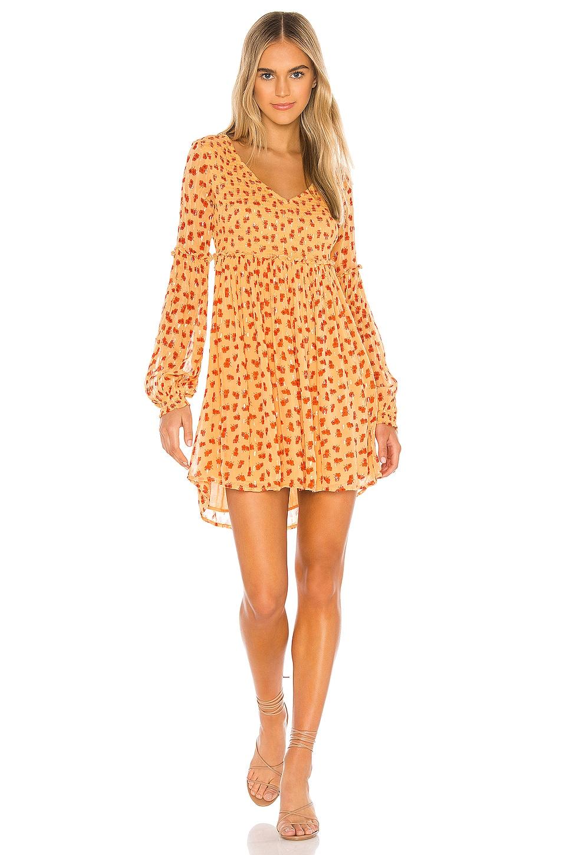 Free People Maria Mini Dress in Orange