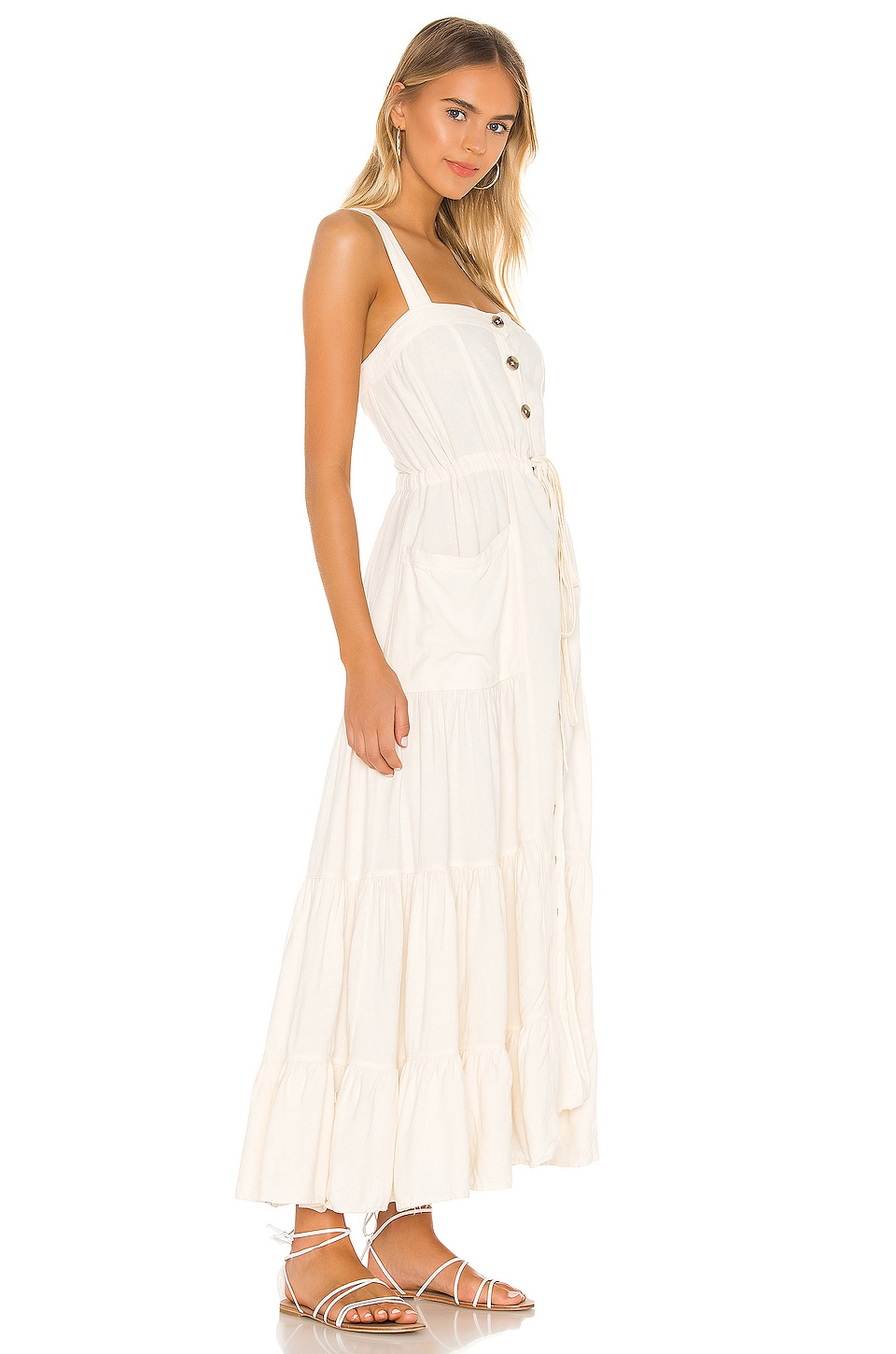 Catch The Breeze Midi Dress, view 2, click to view large image.