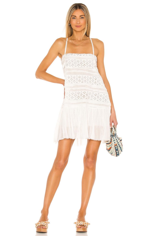 Free People Shailee Slip Dress in Ivory