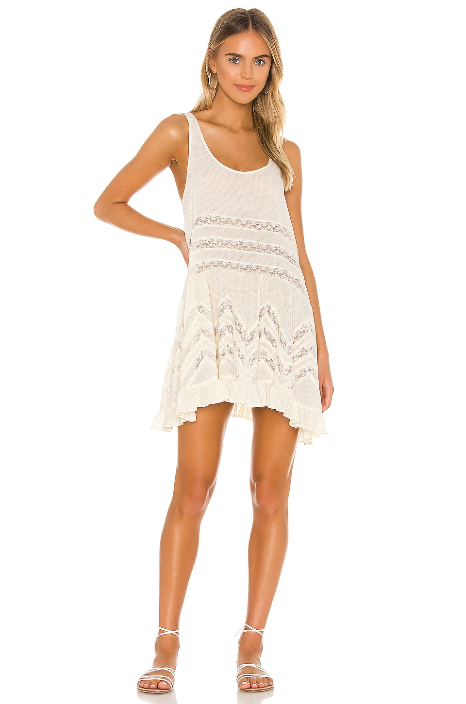 Voile and Lace Trapeze Slip             Free People                                                                                                       CA$ 118.90 3