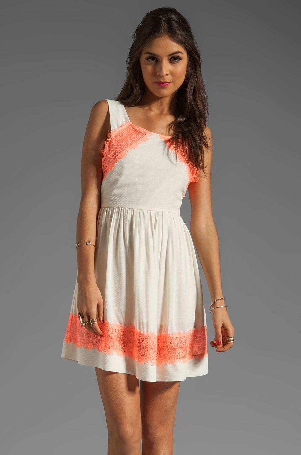 Free People Georgia Dress in Alabaster