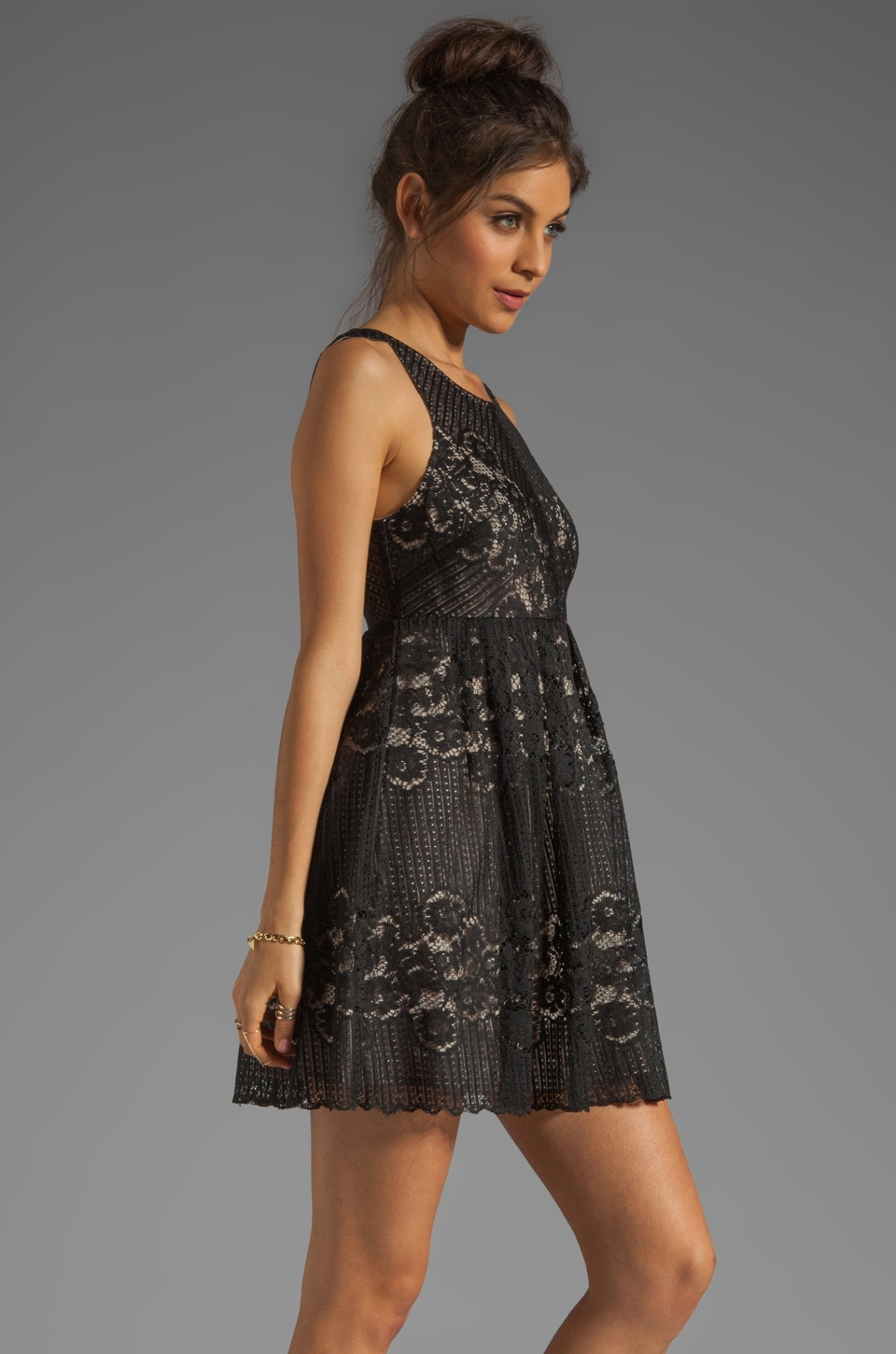 Free People Rocco Dress in Black