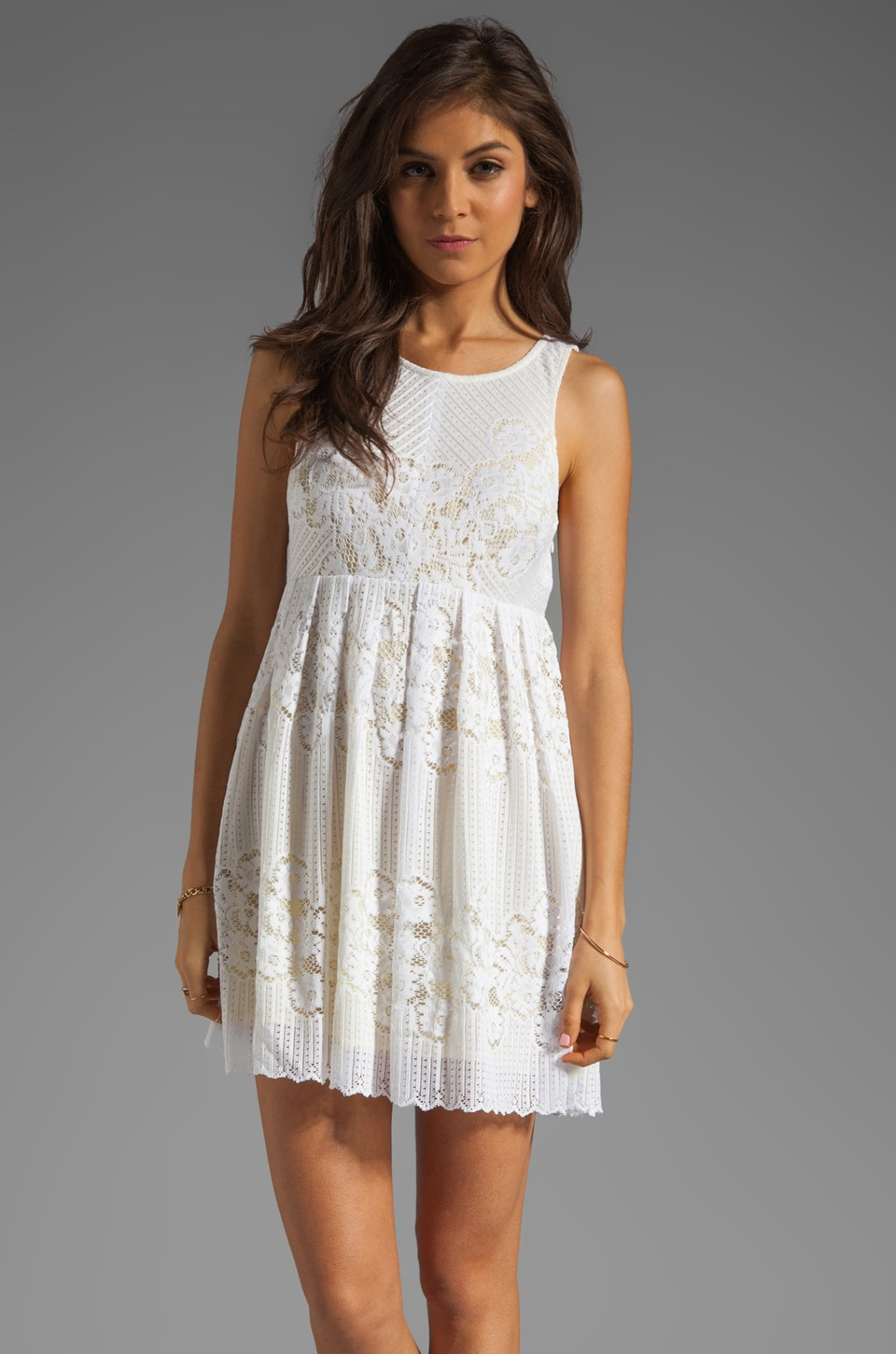 Free People Rocco Dress in White