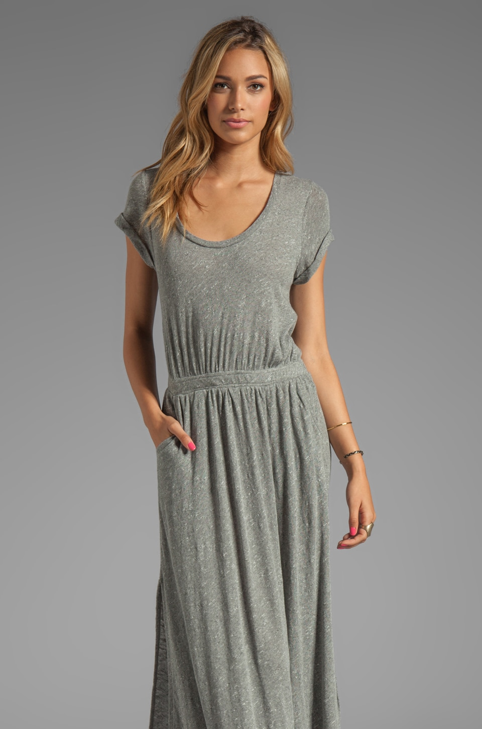 Free People Andrina'd Dress in Pewter