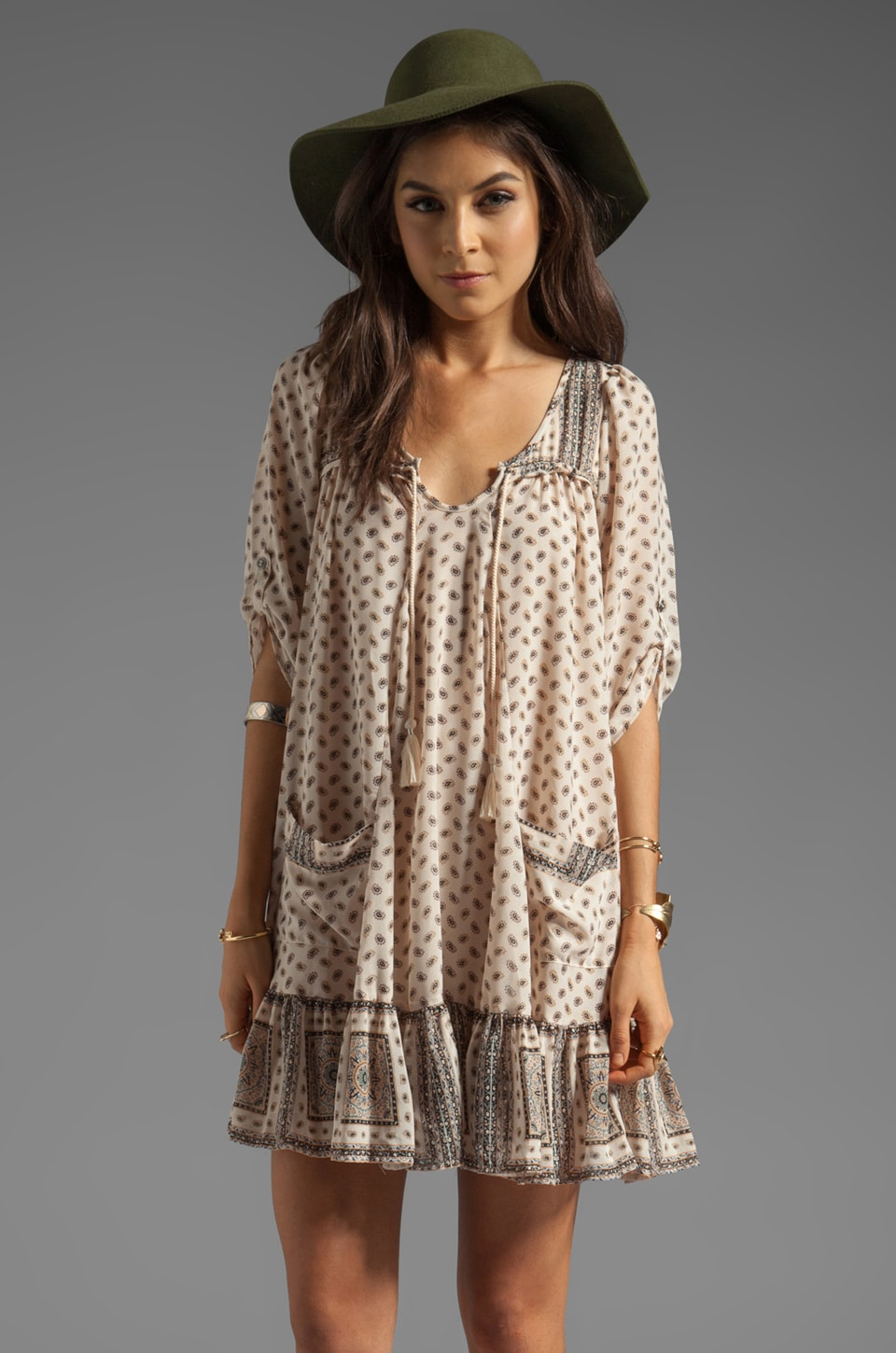 Free People Penny Lane Dress in Tea