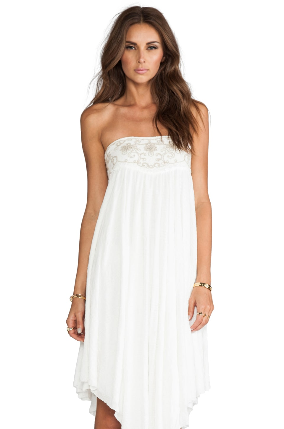 Free People Rhiannon Convertible Dress/Skirt in White