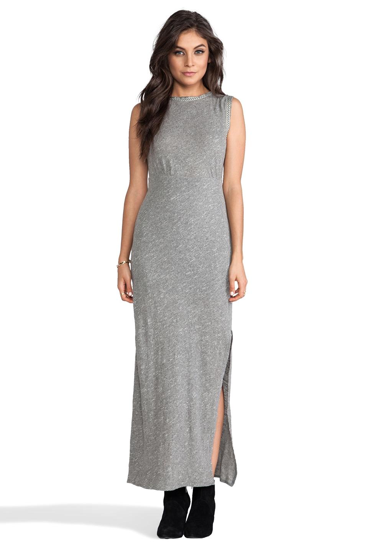 Free People Sabrina Maxi Dress in Grey Heather