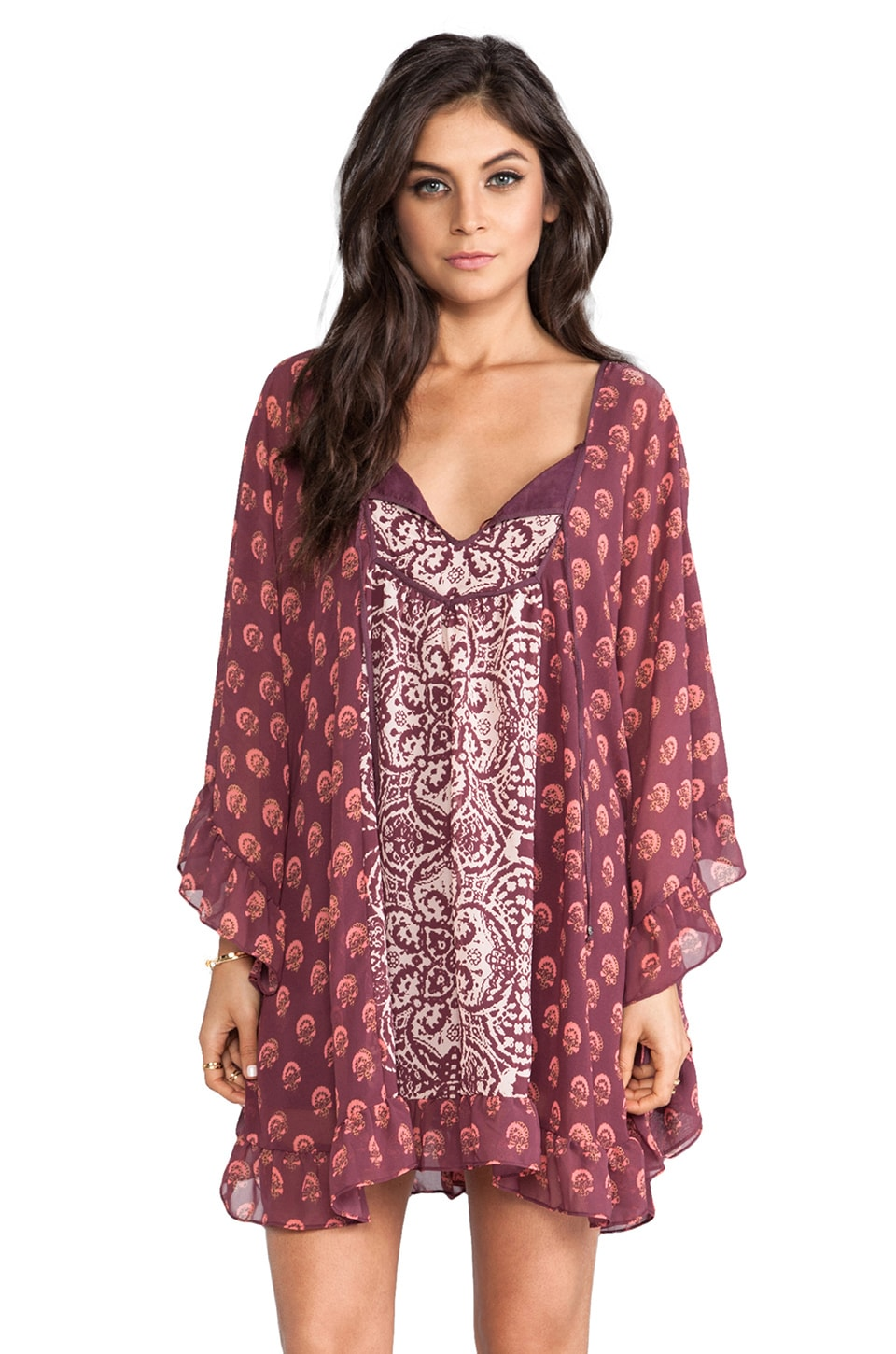 Free People Marla Dreams Dress in Pop