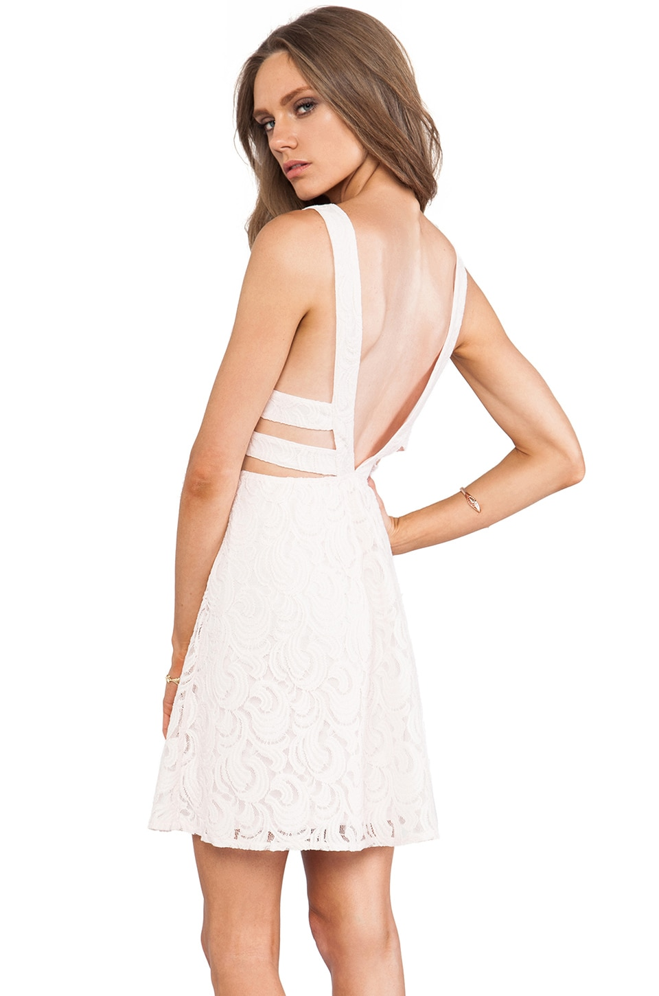 Free People Turn Back Time Dress in Ballet