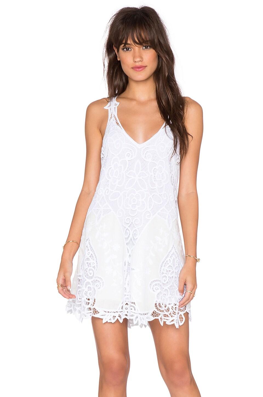 Free People Victoria Mini Dress in White