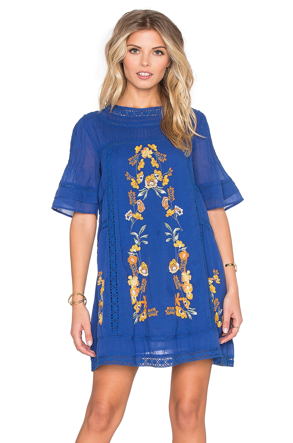 Free People Perfectly Victorian Dress in Bluebird | REVOLVE