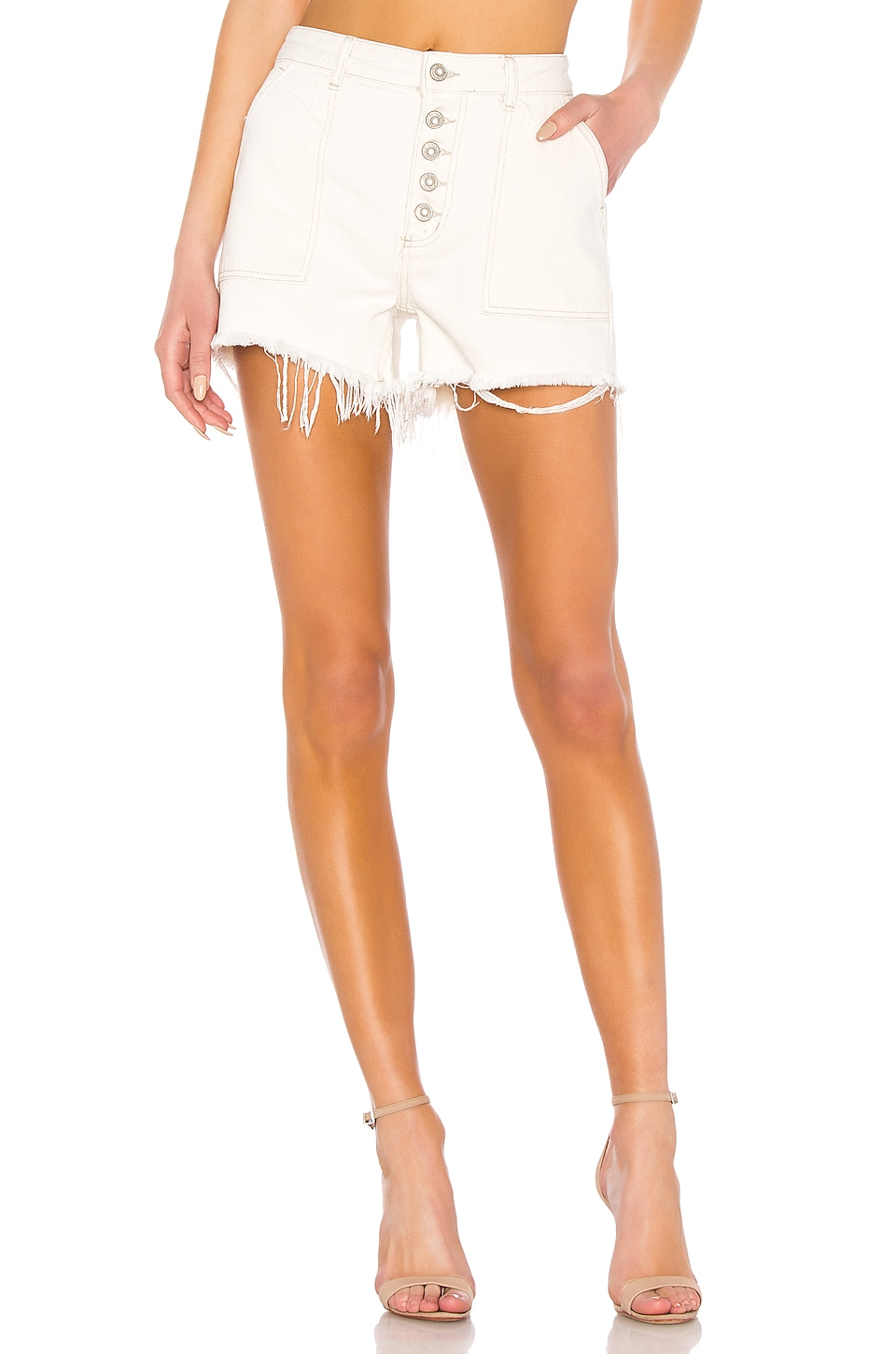 Free People Jesse Carpenter Short in White