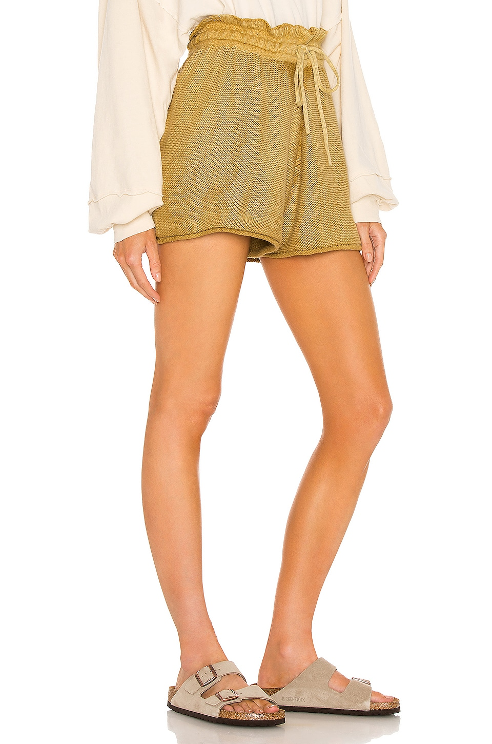 FREE PEOPLE Clothing SUMMERTIME BLUES KNIT SHORT.