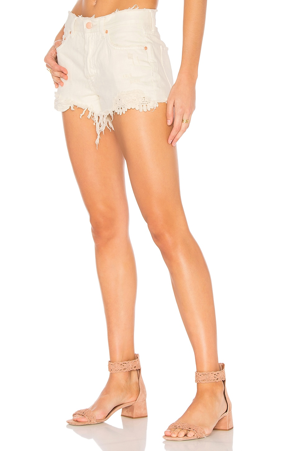 Daisy Chain Lace Short by Free People