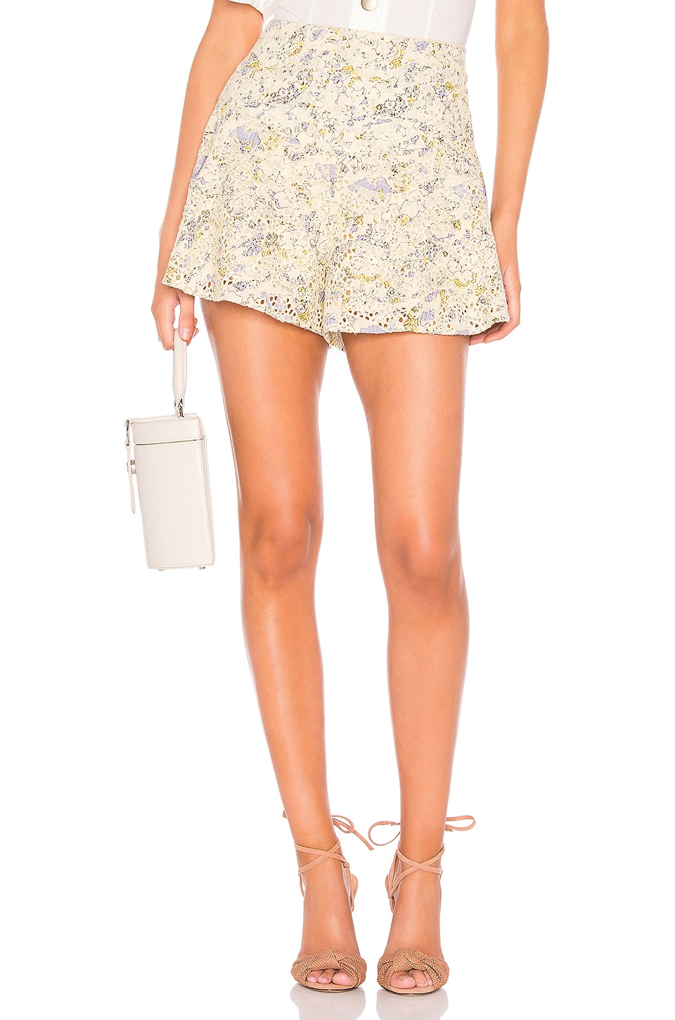 Free People Shallow Waters Short en Neutral Combo
