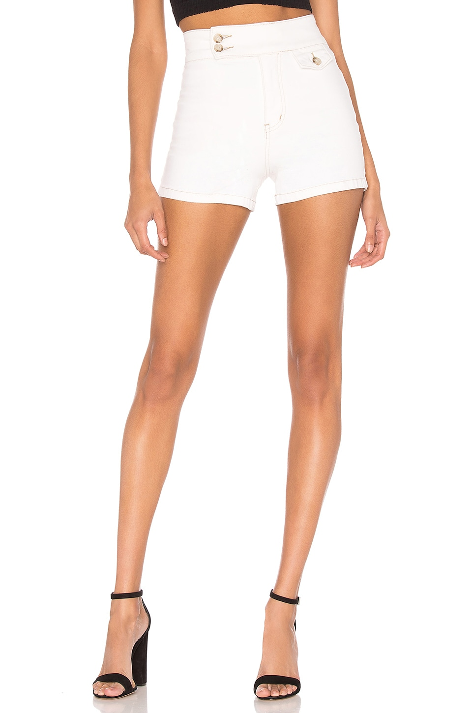 Free People Sammi Retro Short en White