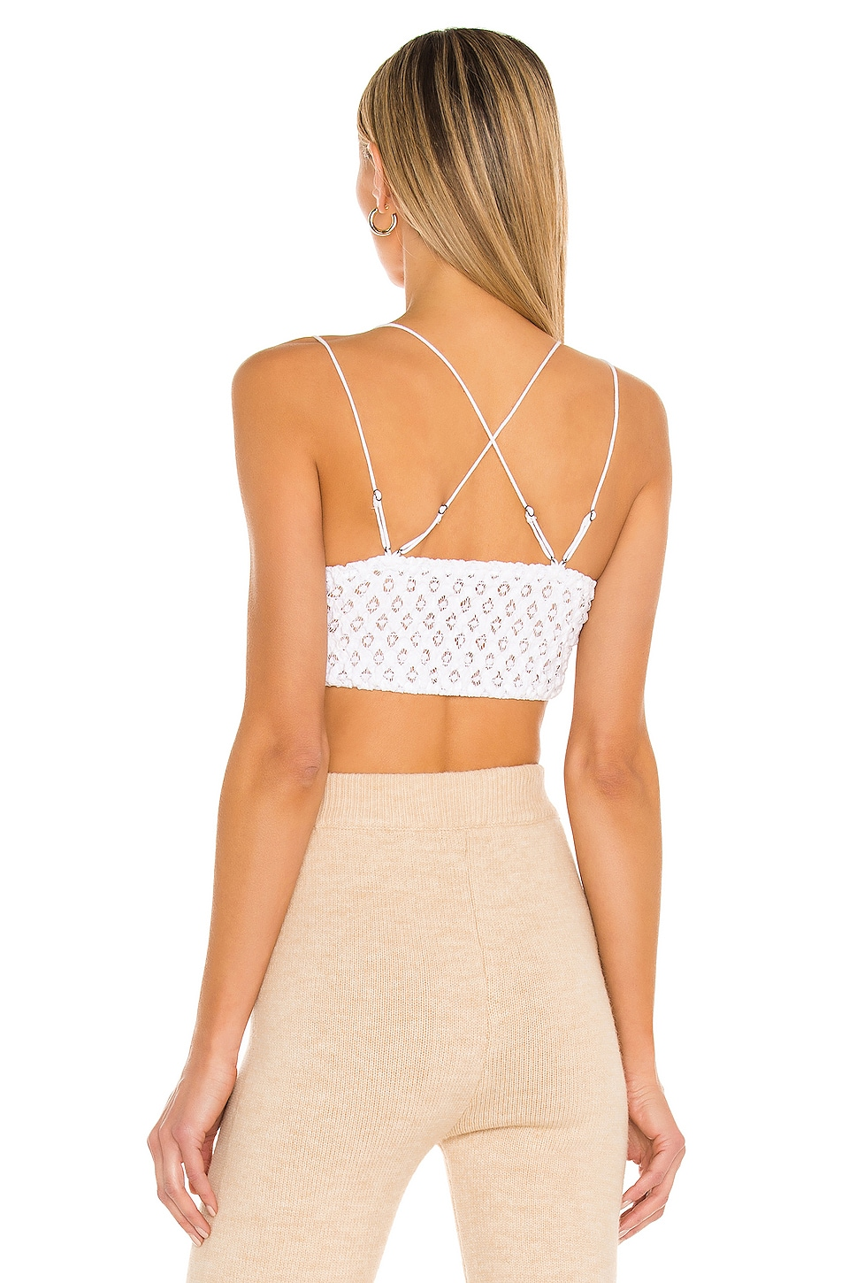 Adella Bralette, view 4, click to view large image.
