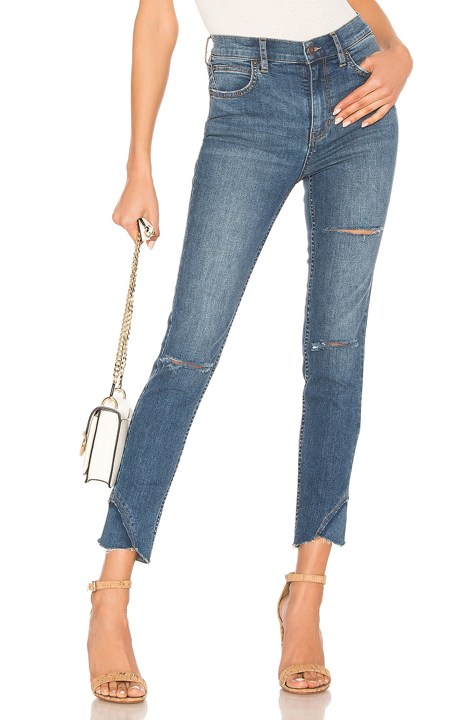 Free People JEAN SKINNY SUNNY