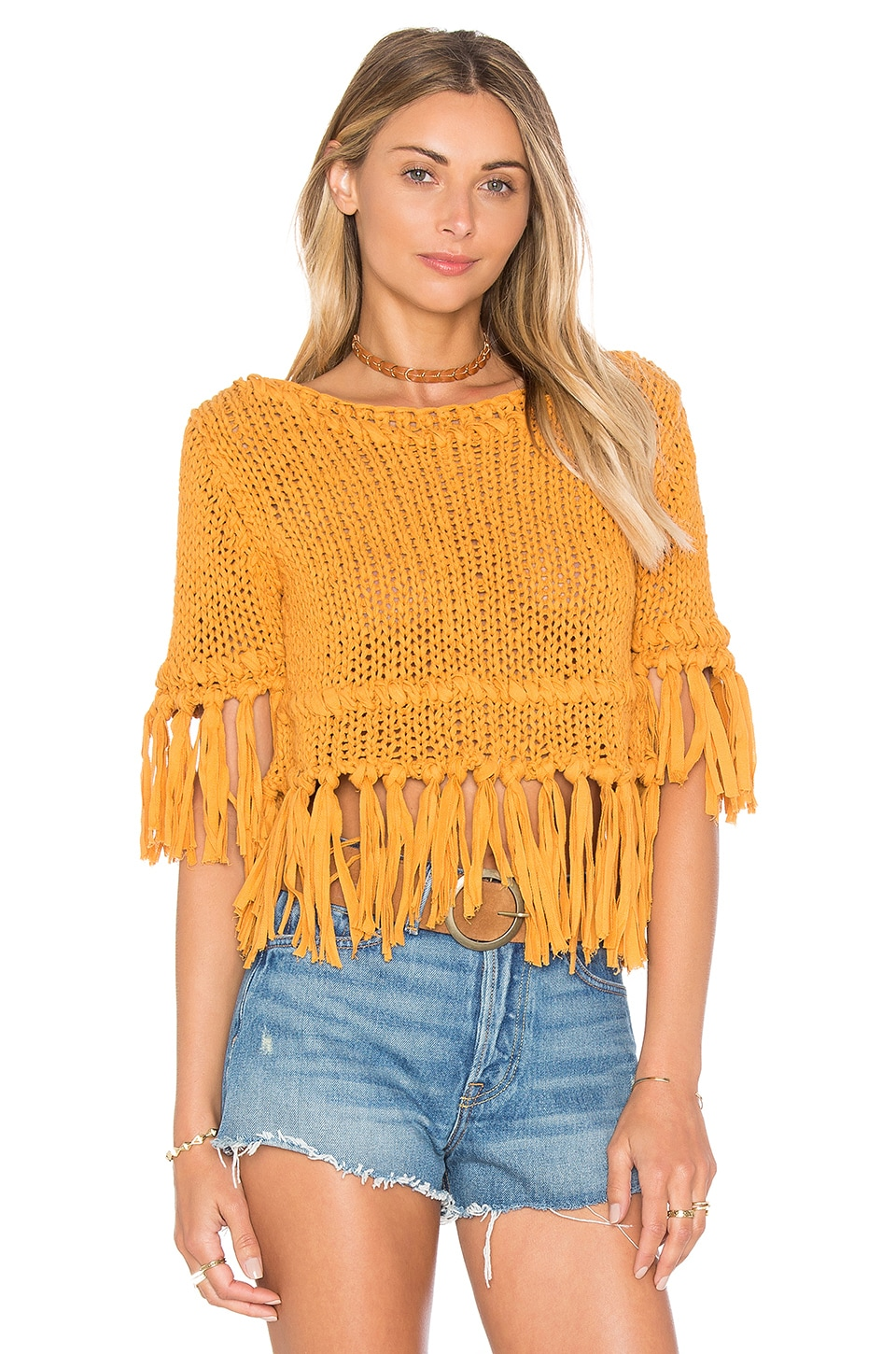 Free People JERSEY ON THE FRINGE