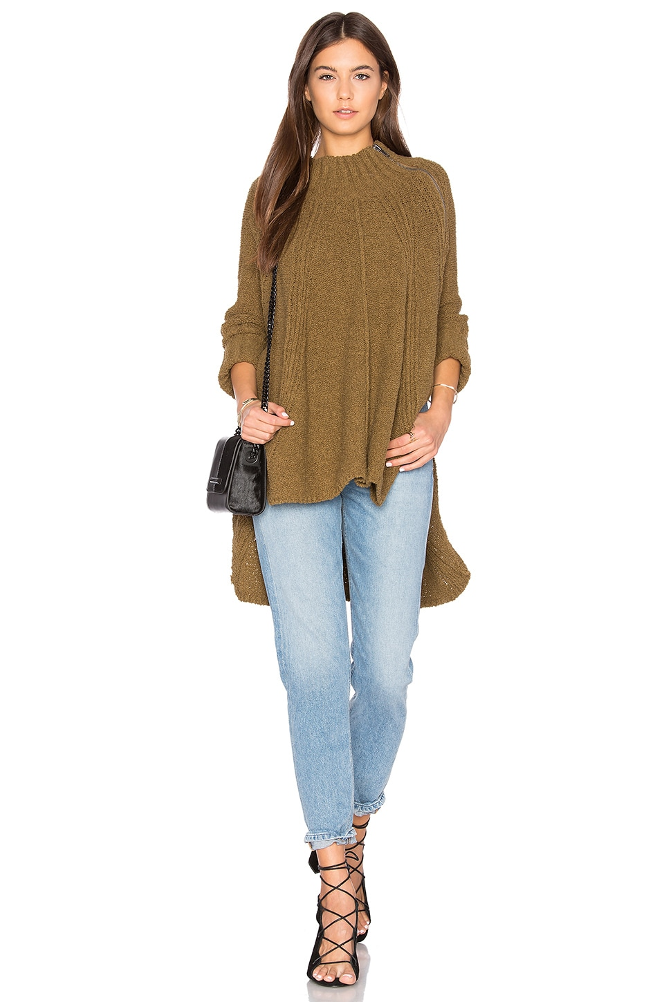Spin Around Poncho Top by Free People