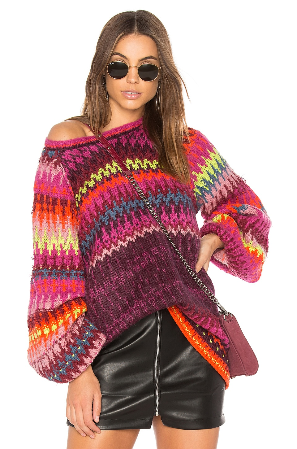 Free People Castles in the Sky Sweater in Multi