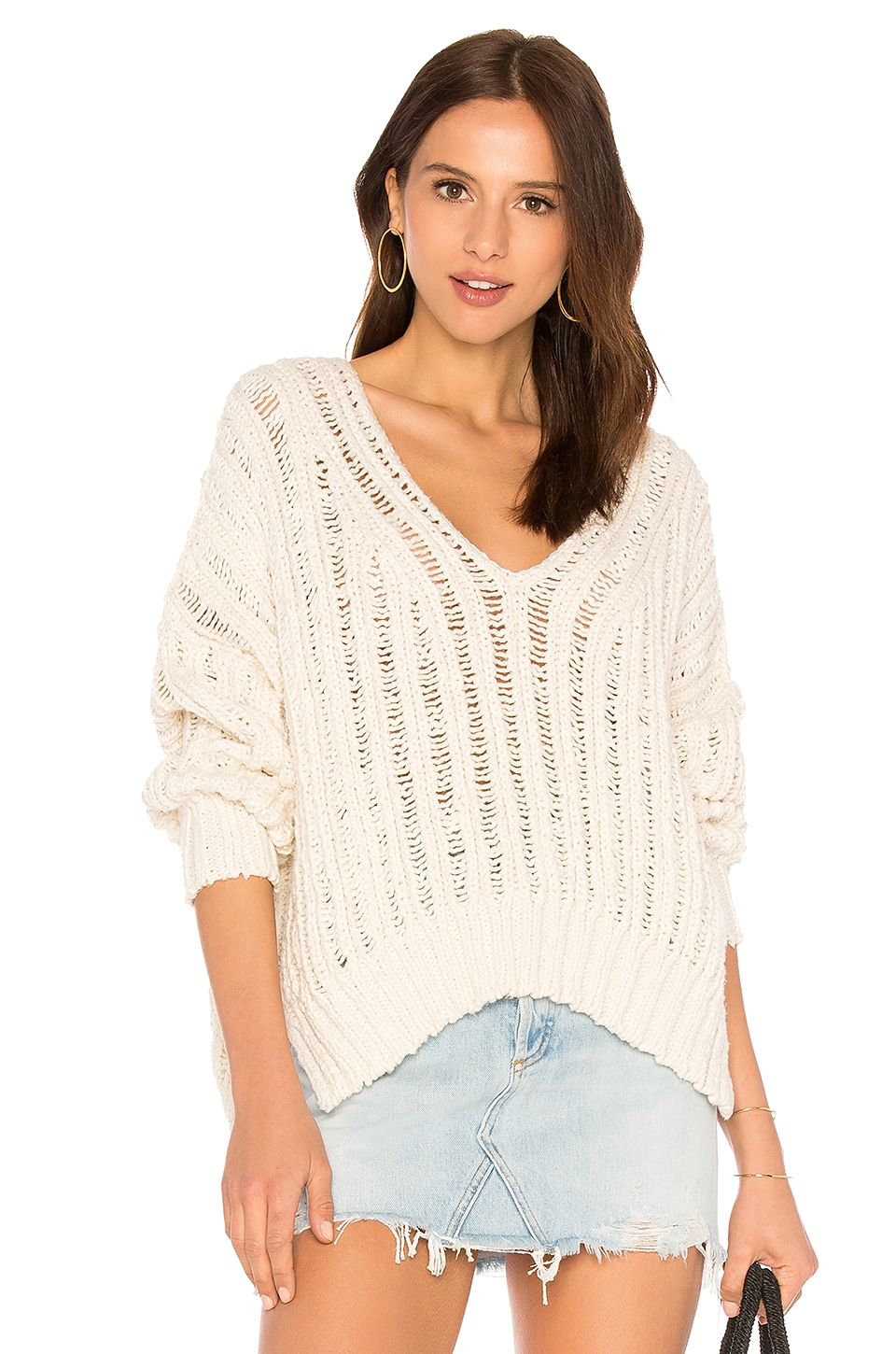 INFINITE V NECK SWEATER