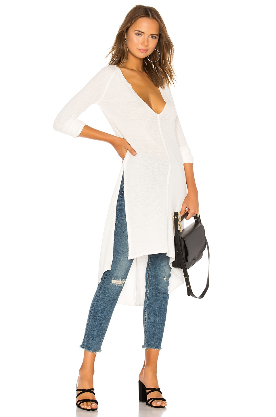 Free People Super Sonic Thermal in Ivory