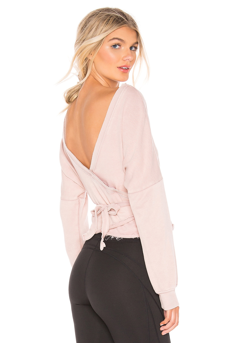 Free People X FP Movement Charlotte Wrap in Taupe
