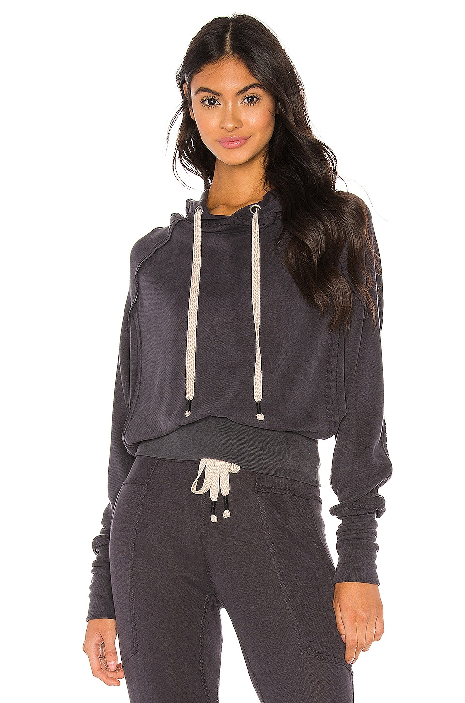 Free People Movement Ready Go Hoodie in Black