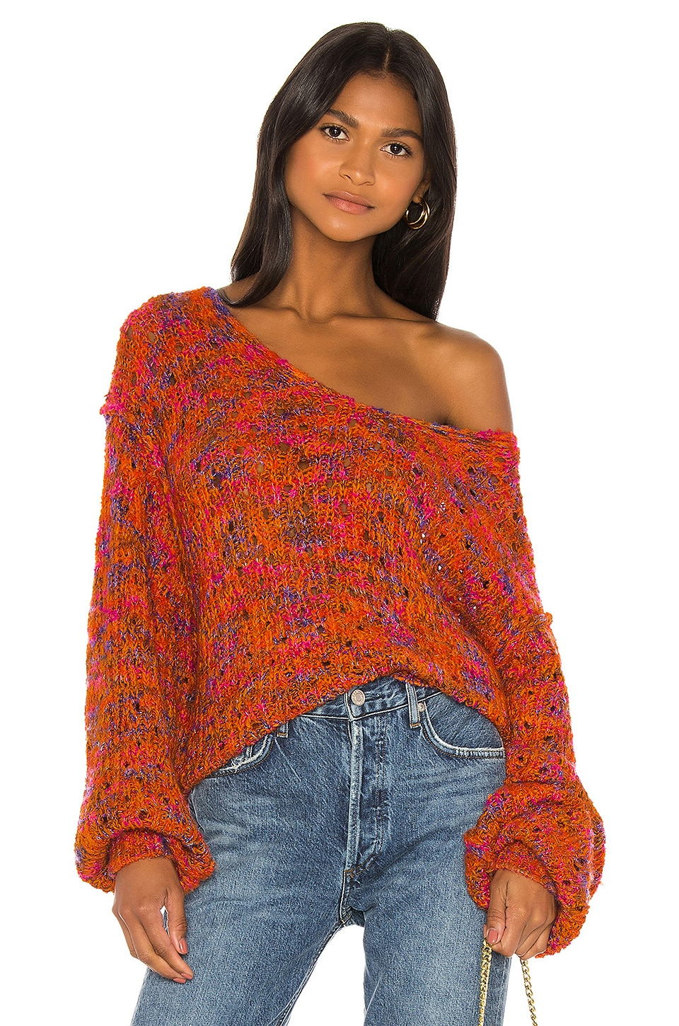 Free People Sweaters Highland V Sweater