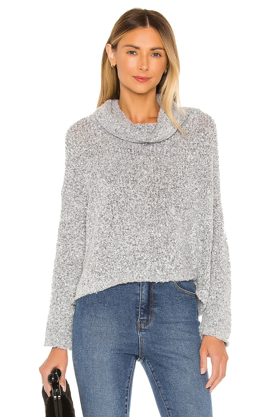 Free People Bff Sweater in Grey