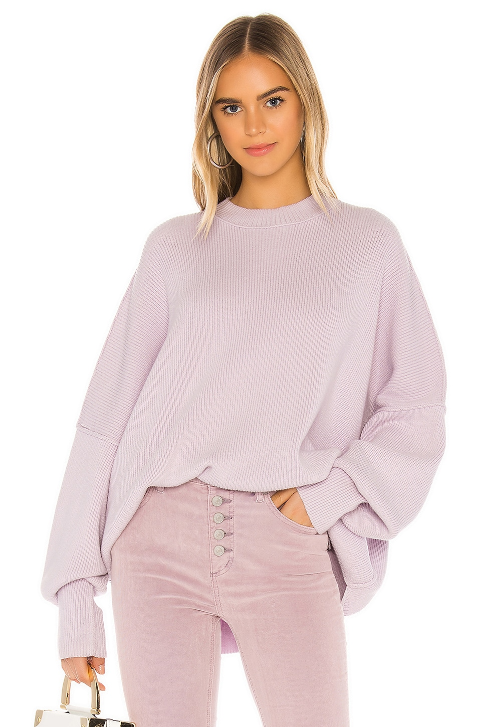 Free People Easy Street Tunic in Lavender