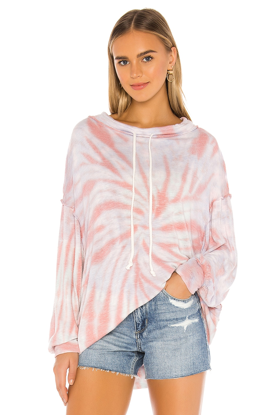 Free People Best Catch Tee in Ivory