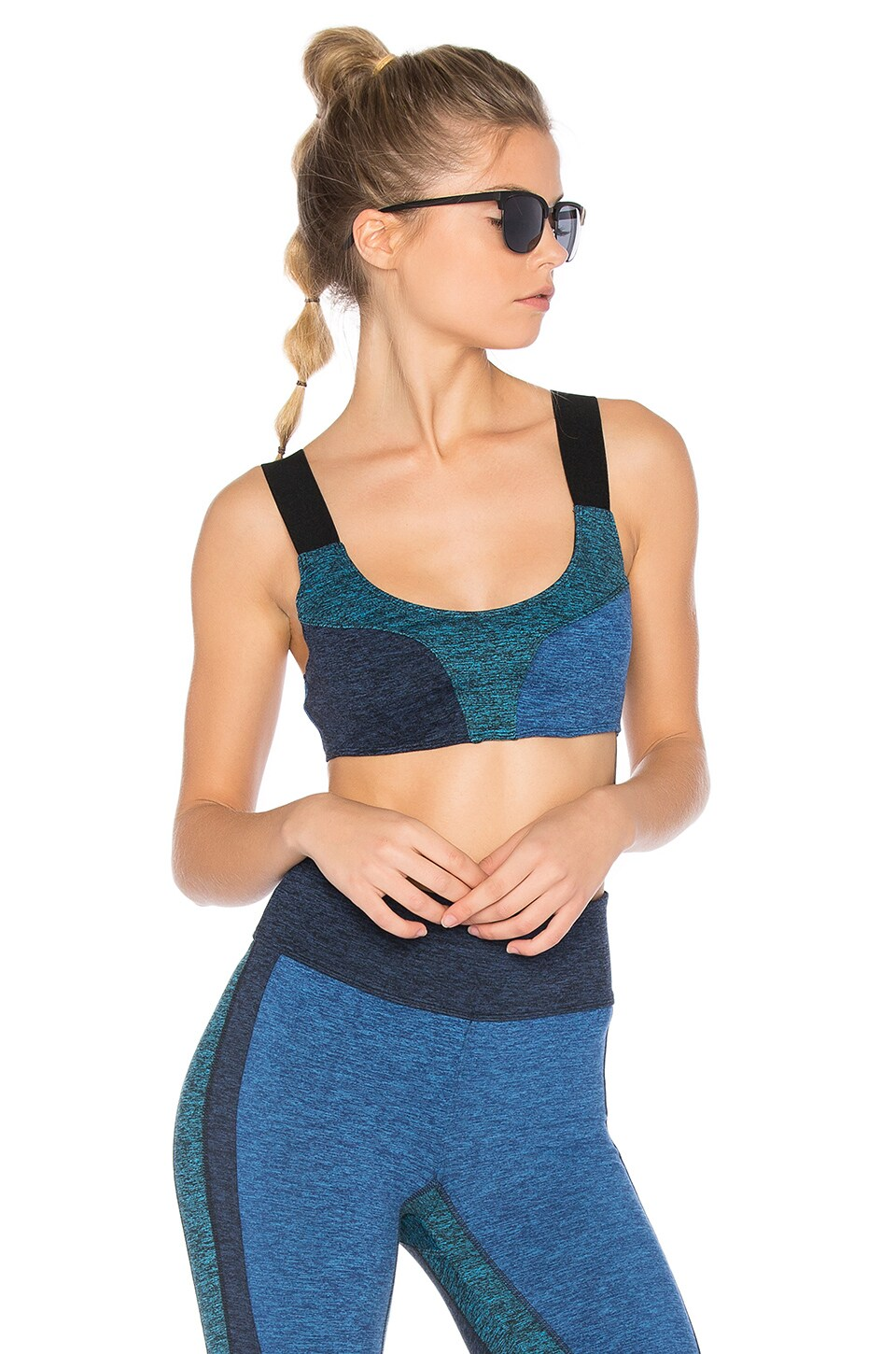 Color Blocked Dylan Sports Bra by Free People