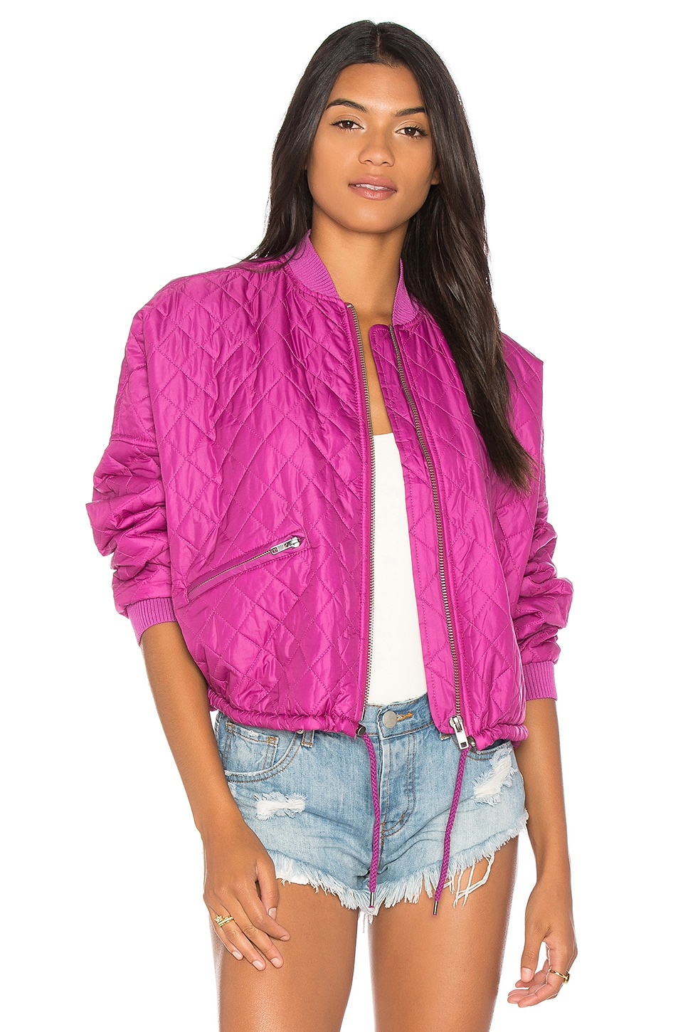 Easy Quilted Bomber by Free People