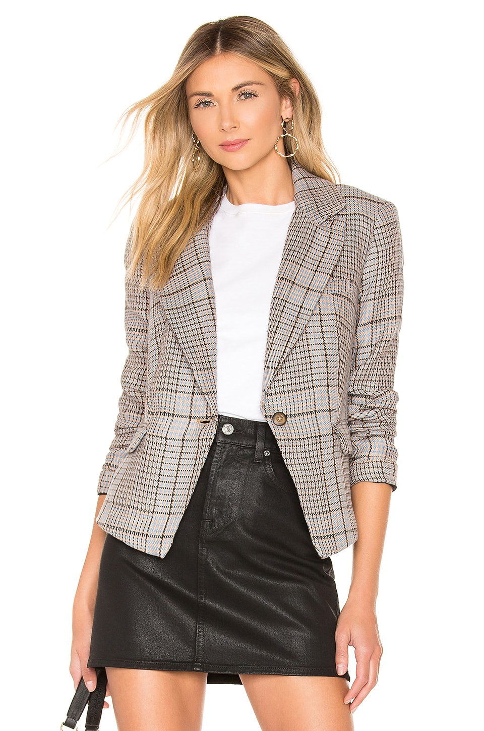 Free People Chess Blazer in Multi