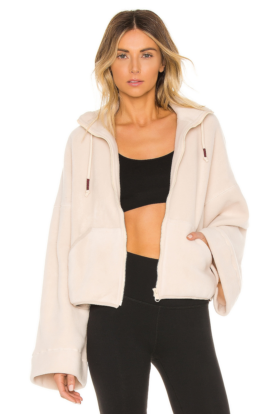 Free People X FP Movement Climb High Fleece in Neutral