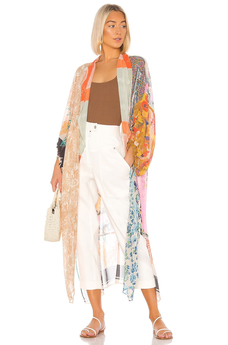 Free People Keeping Up With The Kimono in Multi