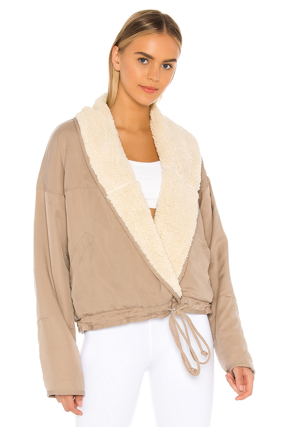 Free People X FP Movement Mix It Up Reversible Jacket in Neutral